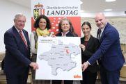 LTP Sigl u. Abgeordnete des Oö Landtags